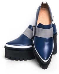 Jamie Wei Huang - Georria Leather Platform Loafer - Lyst