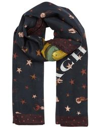 COACH - Rexy Printed Cotton-blend Scarf - Lyst