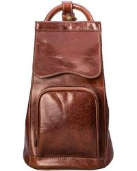 Maxwell Scott Bags - Premium Quality Women S Tan Leather Shoulder Backpack - Lyst