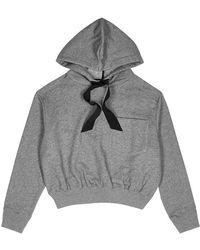 DEMYLEE - Jordan Cropped Cotton Sweatshirt - Lyst