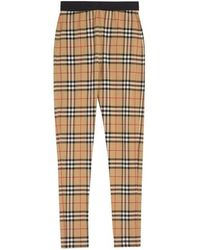 3edc29d1d72255 Burberry Graffiti Print Leggings - Lyst