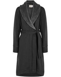 UGG - Duffield Fleece-lined Cotton Jersey Robe - Lyst
