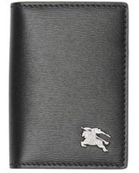 Burberry - Grainy Leather Folding Card Case - Lyst