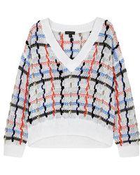 Rag & Bone - Lloyd Chunky-knit Jersey Jumper - Lyst