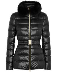 Herno - Iconic Claudia Fur-trimmed Shell Jacket - Lyst