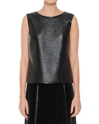 Max Studio - Ribbed Patent Shell - Lyst