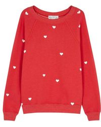 Wildfox - Lovestruck Sommers Fleece Sweatshirt - Lyst