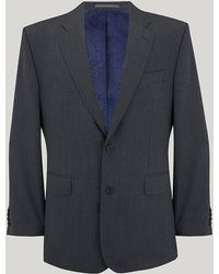 Harvie & Hudson - Grey Herringbone Suit - Lyst