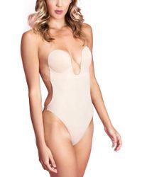 Fashion Forms - U Plunge Strapless Backless Bodysuit Shapewear - Lyst