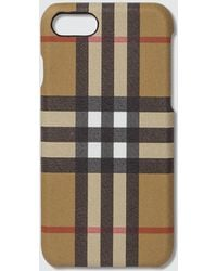 Burberry - Vintage Check Iphone 8 Case - Lyst