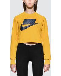 Nike - As W Nsw Nsw Crew Crop Pk - Lyst