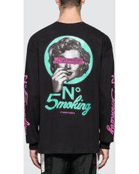 #FR2 - No5moking L/s T-shirt - Lyst