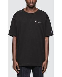 Champion - Deconstruction S/s T-shirt - Lyst