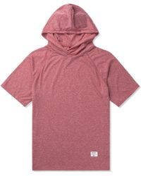 Mister - Red Mr. Hood Raglan - Lyst