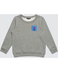 Acne Studios Mini Fairview Flag Sweatshirt - Gray