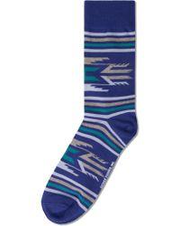 Richer Poorer - Blue Villager Socks - Lyst