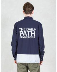 Daily Paper - Panel Shield Logo Shirt - Lyst