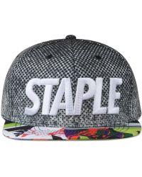 Staple - Crosscourt Snapback - Lyst