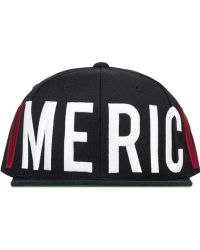 Black Scale - Old Glory Snapback Cap - Lyst