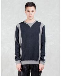 Factotum - Two Tone Sweatshirt - Lyst