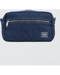 Head Porter - Denim Waist Bag - Lyst