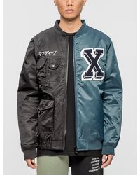 10.deep - Culture Clash Varsity Jacket - Lyst