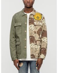 10.deep - Vintage Split Military Shirt - Lyst