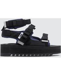 Suicoke - P.a.m. X Walk To Me Sandals - Lyst