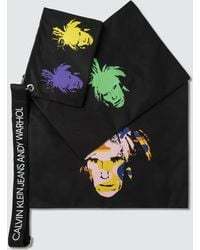 Calvin Klein Jeans - Warhol Self Portraits Triple Pouch With Strap - Lyst