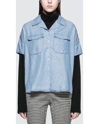 Calvin Klein Jeans - Winnie Indigo Shirt - Lyst