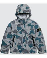 Stone Island - Camo Full Zip Jacket (infant) - Lyst