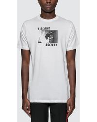 Wasted Paris - I Blame Society T-shirt - Lyst