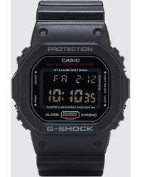 """G-Shock - Dw5600hr """"black & Red Series"""" - Lyst"""