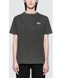 Stussy - Jazzmon Pig. Dyed S/s T-shirt - Lyst