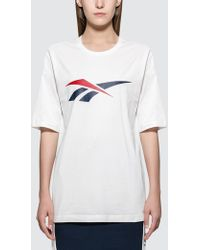 Reebok - Vector S/s T-shirt - Lyst