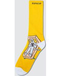 RIPNDIP - Therapy Socks - Lyst