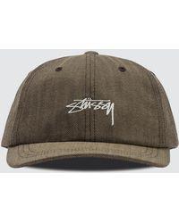 Stussy - Stock Herringbone Low Pro Cap - Lyst