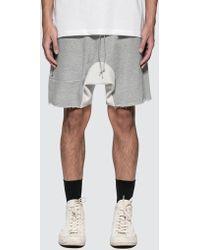 MR. COMPLETELY - Zipper Shorts - Lyst