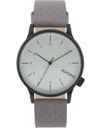 Komono   Winston Concrete Watch   Lyst