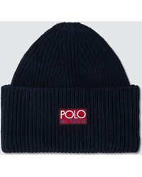 ecfae20daeba8 Polo Ralph Lauren Hi Tech Knit Beanie in Red for Men - Lyst