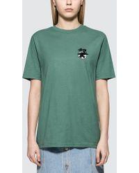 Stussy - Surfman Dot S/s T-shirt - Lyst