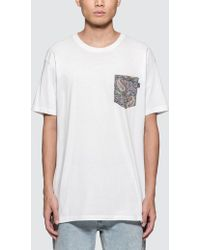 The Quiet Life - Liberty Paisley Pocket S/s T-shirt - Lyst