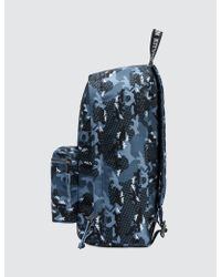Maison Kitsuné Camouflage Print Backpack in Green for Men - Lyst b96175f5662a4