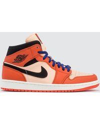 Nike Air Jordan 1 Mid Se - Orange