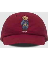 Polo Ralph Lauren - Sport Cap With Bear - Lyst