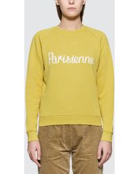 Maison Kitsuné - Parisienne Sweatshirt - Lyst