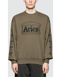 Aries - Column Sweatshirt - Lyst