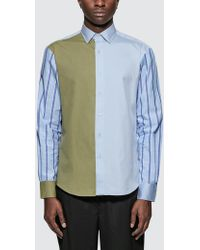 JW Anderson - Panelled Classic Shirt - Lyst