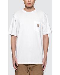 Carhartt WIP - Pocket S/s T-shirt - Lyst