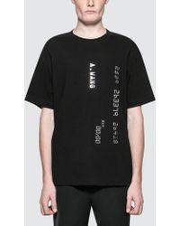 Alexander Wang - Men's Credit Card Decal Tshirt - Lyst